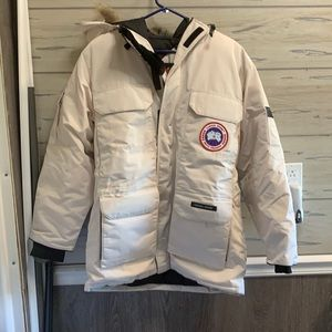 Canada Goose Off White Med Womens jacket